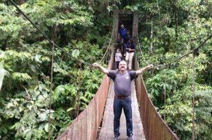 יוסי דרוסקין בקוסטה ריקה (צילום עצמי)
