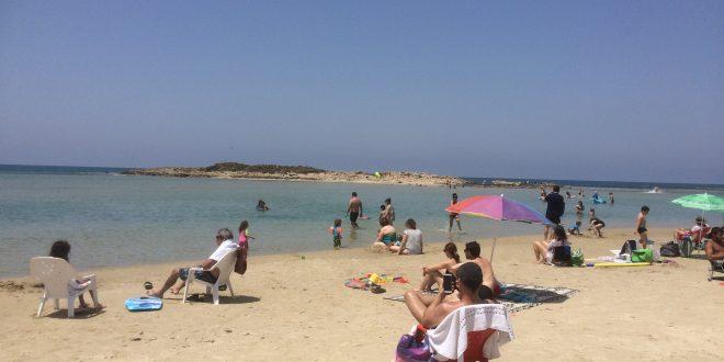 אידיאלי למשפחות. חוף דור. צילום: נירית שפאץ
