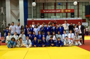 """המצטיינים של מועדון """"ג'ודו פור לייף"""" באליפות ישראל (צילום: עצמי)"""