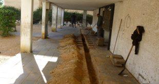 """עבודות התאגיד ברחוב בן גוריון. הרעיון אומץ בכל הארץ (צילום: יח""""צ)"""