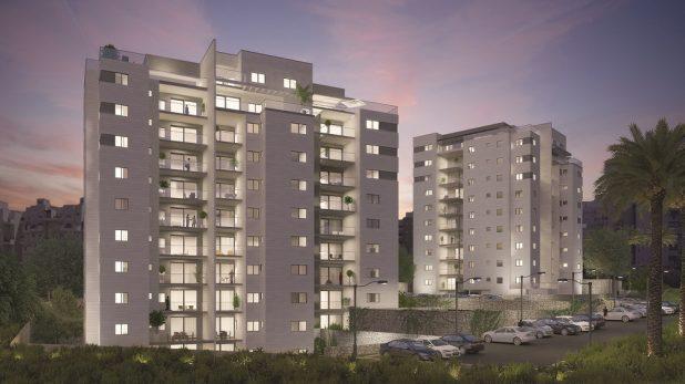 מותג חדש 2 דירות בלבד של 5 חדרים נותרו למכירה במגדל D במגדלי סלקטד בנצרת VX-82