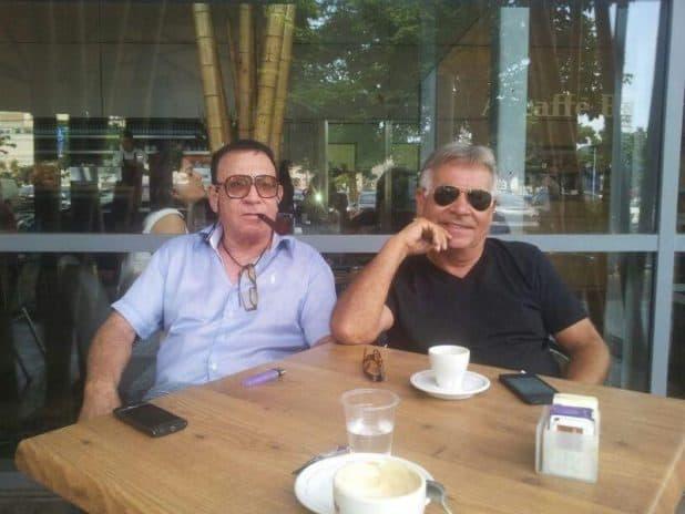 טומי ורובי ריגלר (צילום: עצמי)