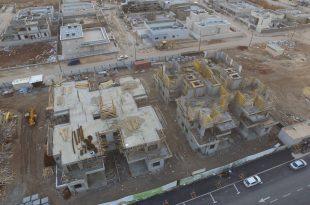 תנופת בנייה בבית שאן (צילום דוברות העירייה)