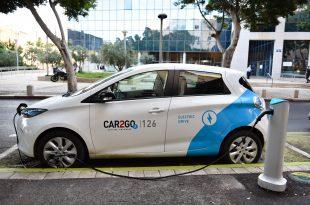 מיזם קאר2גו, השכרת רכבים חשמליים. צילום: דורון גולן