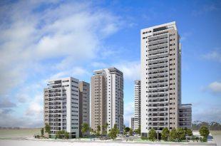 פרויקט מגדלי היוקרה (הדמיה-גורדון אדריכלים ומתכנני ערים בע''מ)