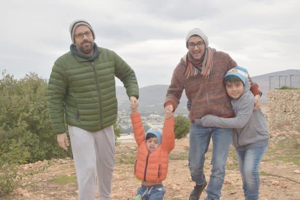 אנדרס ודורון עם הילדים צילום: ליאל מלניק
