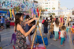 המון פעילויות בפסח בכיכר צילום נורית מוזס