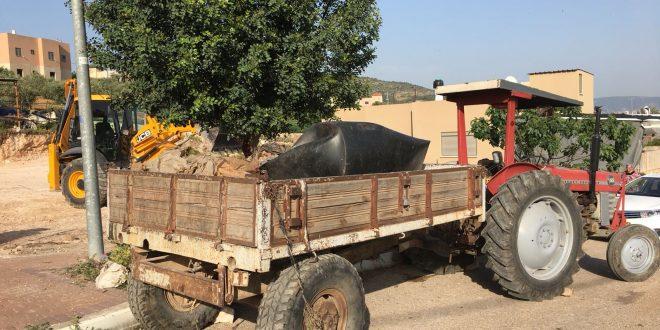הטרקטור בכפר דמיידה