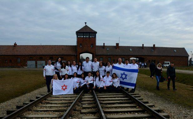 """משלחת נוער מד""""א לפולין 2018 - צילום איילה סמוטריץ' דוברות מדא"""