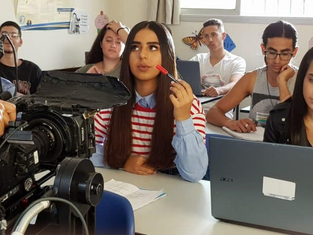 אלין כהן בקמפיין לרשת תיכון גימנסיה צילום יחצ 2