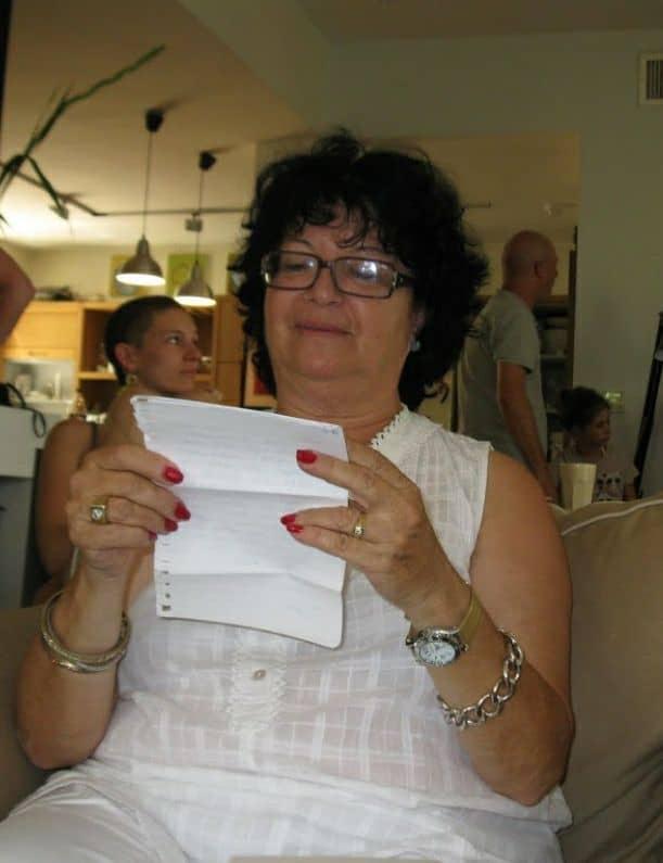 הנשיא חיים ויצמן נתן לי את שמי. רותי מיכאלי צילום עצמי
