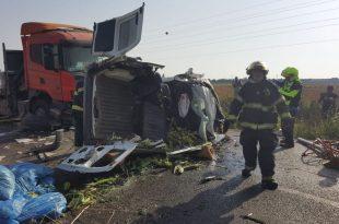 התאונה הבוקר (צילום דוברות המשטרה)