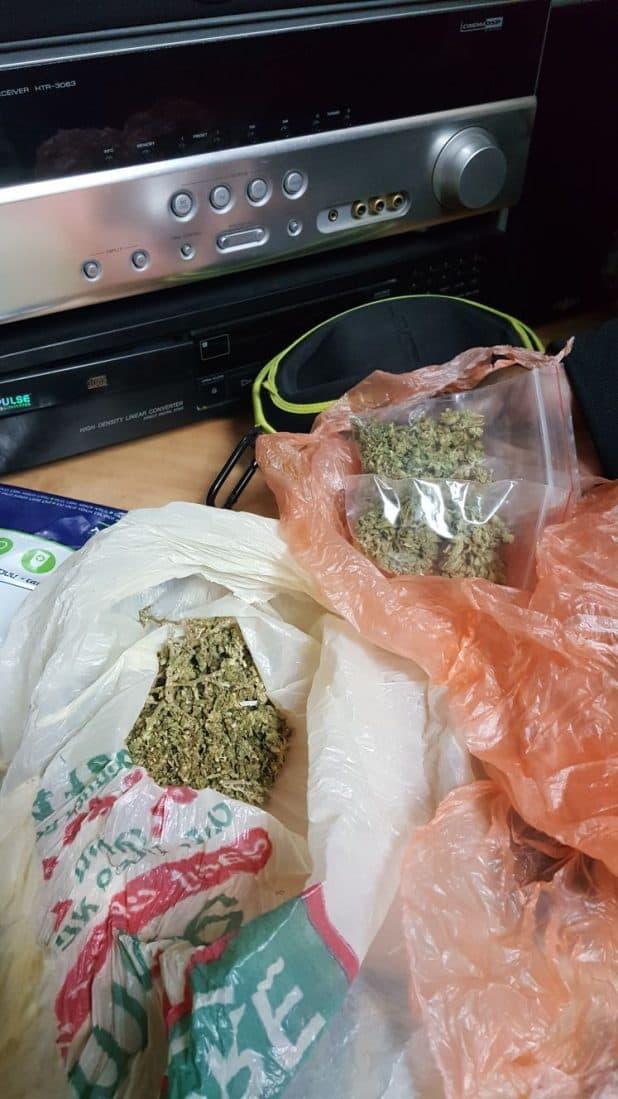 סמים בכפר יונה צילום דוברות משטרה