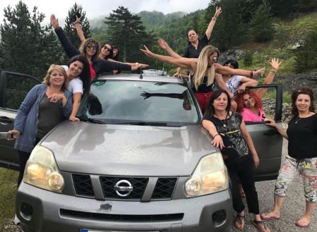 בנות העמק ביוון (צילום עצמי)