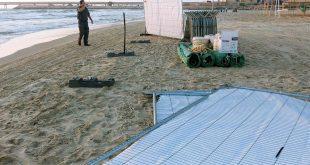 הריסת החוף למסיבה בחדרה צילום פרטי אנוננימי