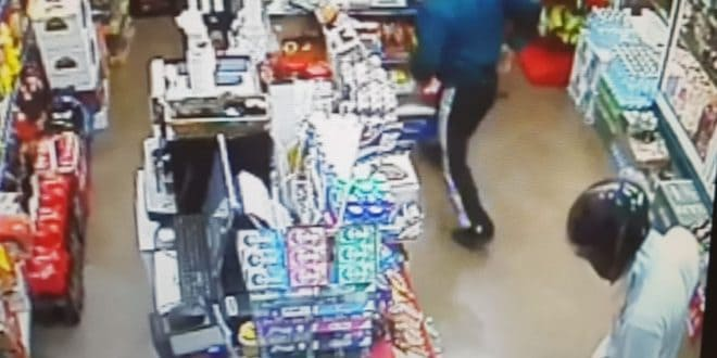 שוד בחנות פיצוחים. צילום: דוברות המשטרה