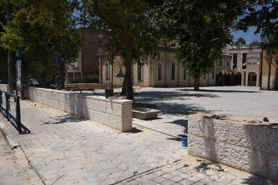 תשתיות ברחוב הוגו מולר. צילום: דוברות העירייה