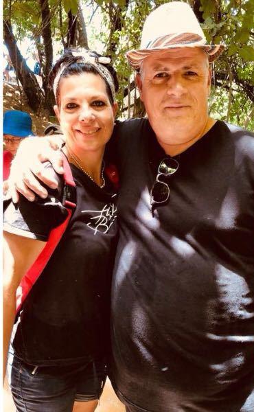 רני ומרים גנון בצפון (צילום עצמי)