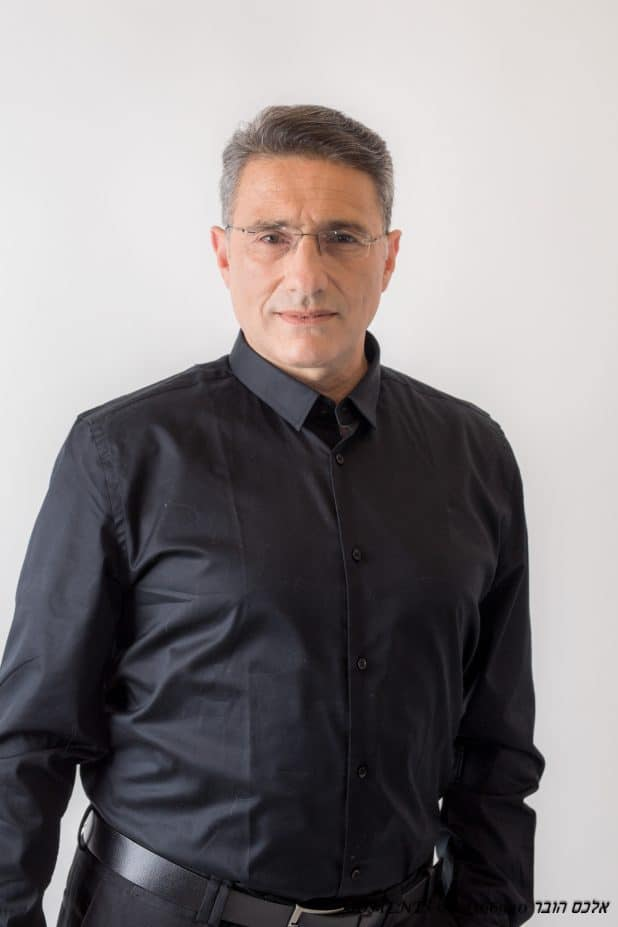 משה קונינסקי - צילום אלכס הובר