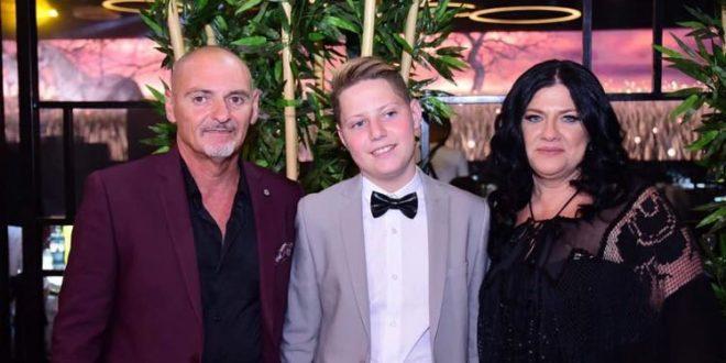משפחת כהן חוגגת לגיא (צילום וידאו ברוך)