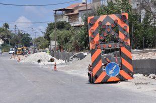 עבודות תשתית ברחוב אנילביץ'. צילום: דוברות העירייה