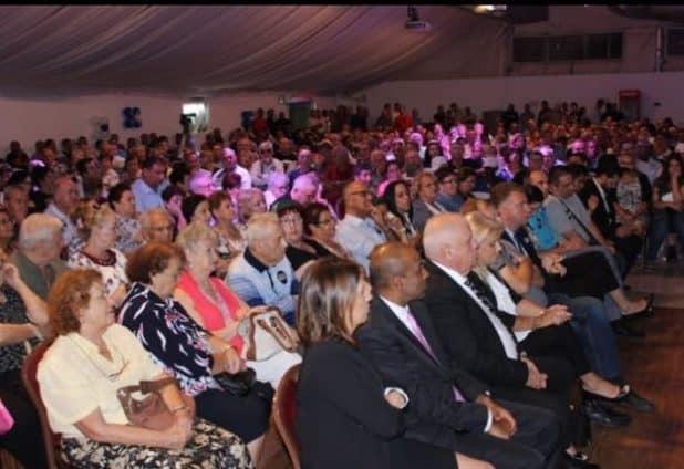 האולם היה מלא עד אפס מקום (צילום ישראל פרץ)