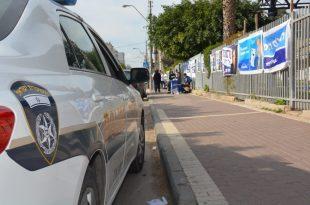 גם המשטרה ערוכה ליום הבחירות. צילום: דוברות המשטרה
