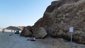 מצוק החוף   מפולת מצוק חבצלת