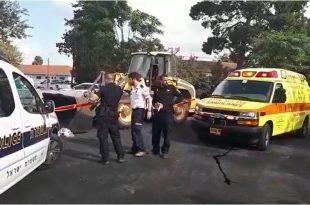 """אתר התאונה. צילום: תיעוד מבצעי מד""""א"""