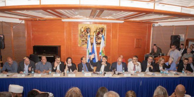 כינון מועצת העיר ה-12 נוב' 2018