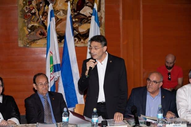 משה קונינסקי מנהל ישיבת כינון מועצה מס 12 צילום אלכס הובר