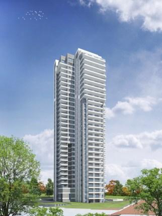 פרויקט מגדל הצוק בשכונת הצוק בנתניה. הדמיה: 3Ddesign