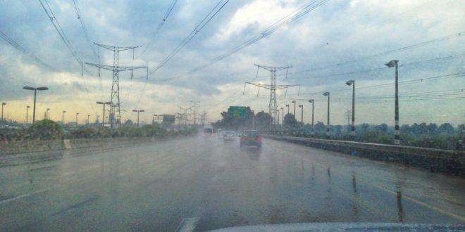 נהיגה בחורף. צילום: אור ירוק