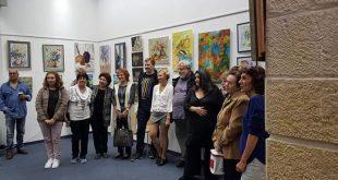 תערוכת ציורים. צילום: דוברות העירייה
