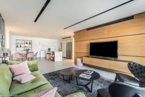 דירה לדוגמה בפרויקט של גיא ודורון לוי באפקה | צילום: יח