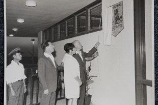 חנוכת בניין העירייה ב-1968. צילום: באדיבות הארכיון העירוני