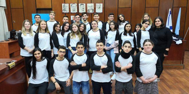 מייצגים את כל בני הנוער בעיר. חברי המועצה(צילום: מועצת הנוער עכו)