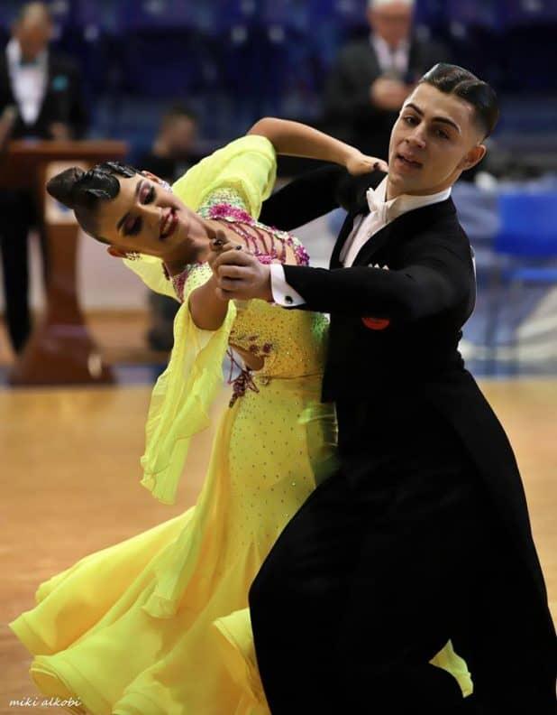 הזוג מנהריה. קארין קייקוב ואייל אטלי (צילום: מיקי אלקובי)