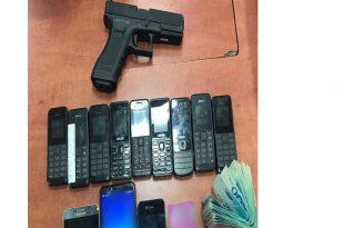 נשק וחומרי חבלה צילום דוברות משטרת ישראל