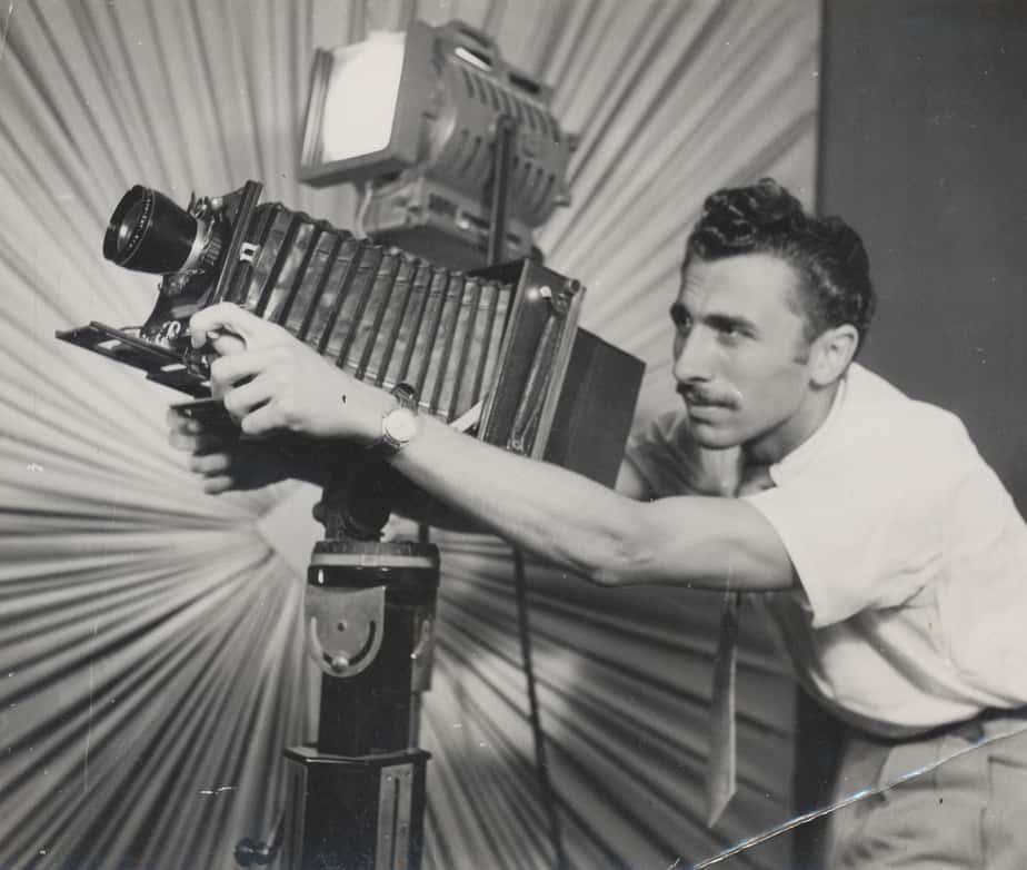 פרג' בסטודיו פתח תקווה שנות ה50