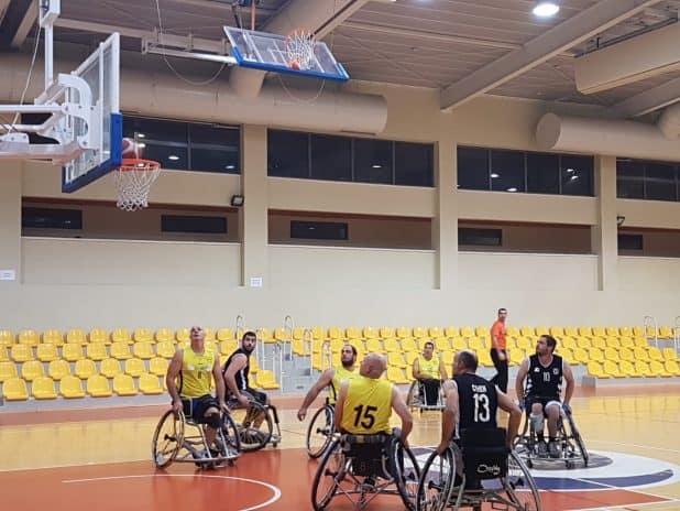 כדורסל על כסאות צילום קסם