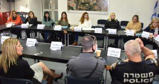 ישיבת אכיפה נגד נפצים. צילום: רפי עשור