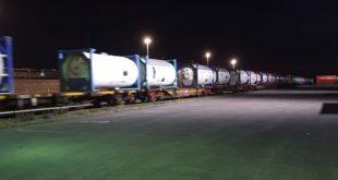 בפעם הראשונה. רכבת האמוניה (צילום: רכבת ישראל)
