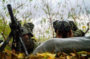 יחידת אגוז במהלך המבצע 2 צילום דובר צהל