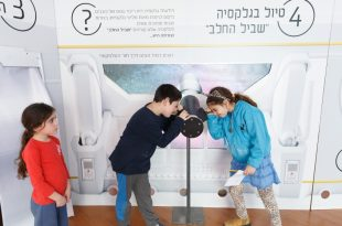 ילדים במהלך פעילות באירועי שבוע החלל במכללה האקדמית להנדסה בראודה צילום: JINIPIX