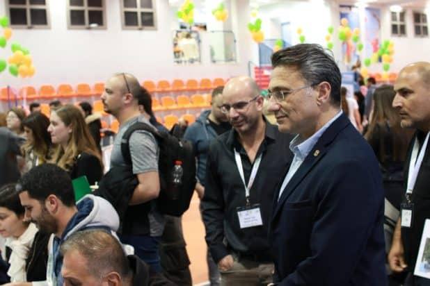 יריד דירות, משה קונינסקי ויובל קיסוס צילום תומר בדש