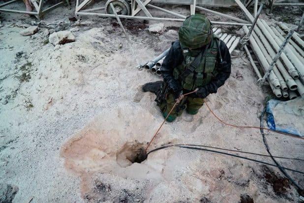 """מבצע מגן צפוני (צילום: דו""""צ)"""