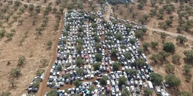 מגרשי גריטה ליד הכפר ראמה צילום תנועת רגבים (1)