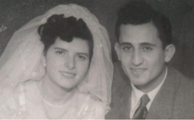 מוסא ולבנה ביום חתונתם