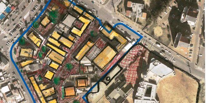 מתחם התכנון- מרכז אזרחי